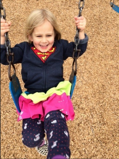 I like swinging.